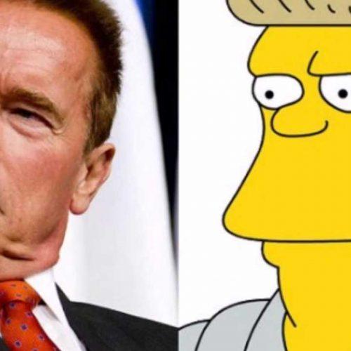 Arnie schwarzenegger Simpsons