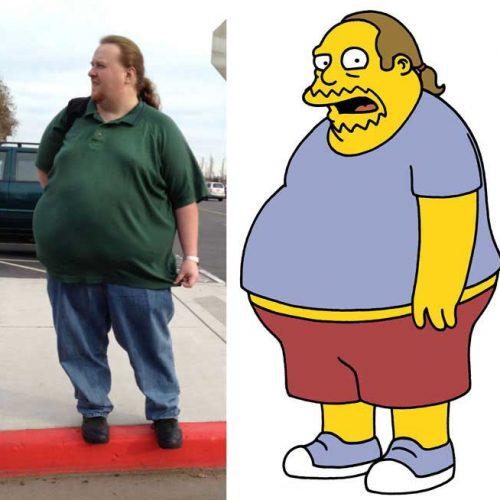 Comic Book guy Simpson Look Alike