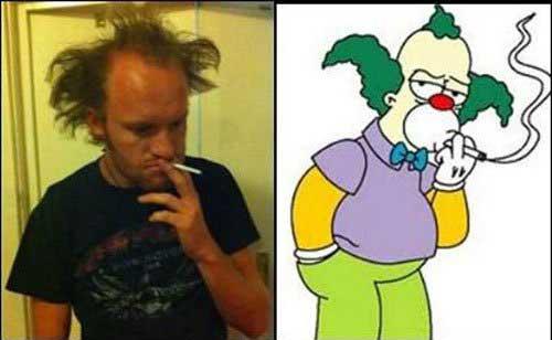 Krusty Crack head Look Alike