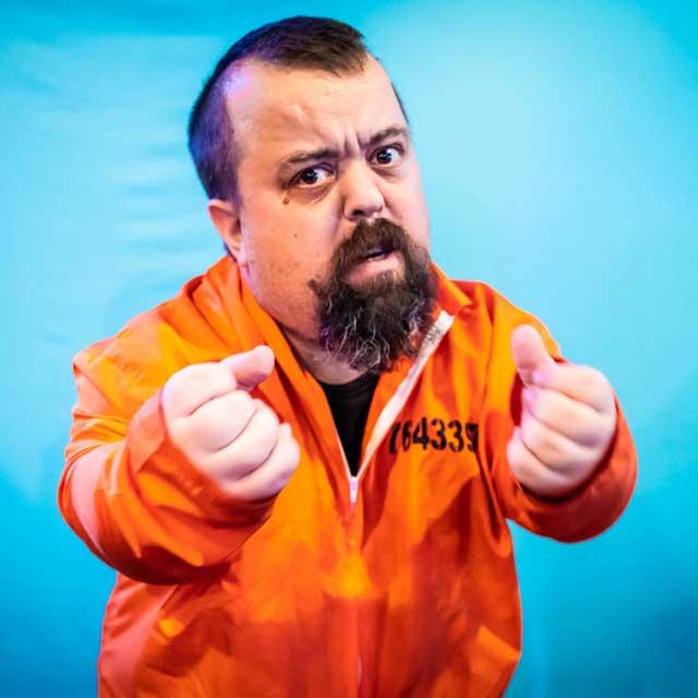 Dwarf Bucks Party Inmate