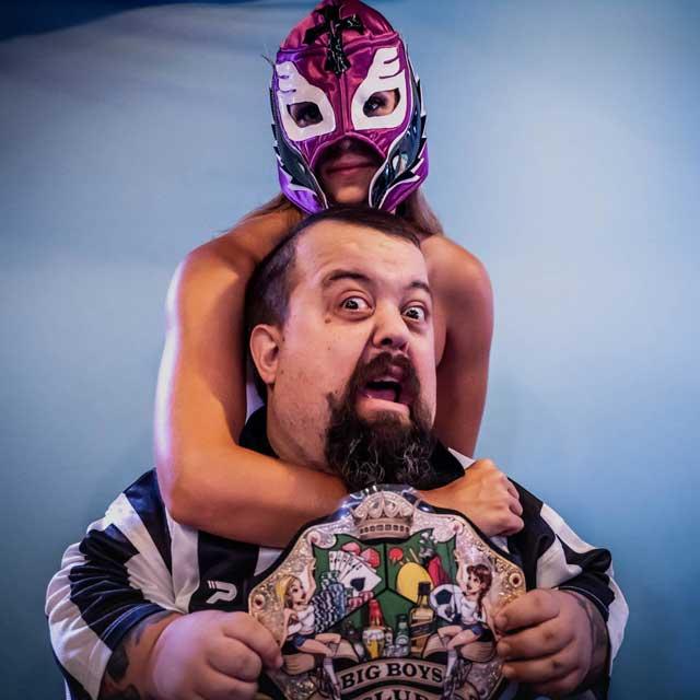 Midget Jelly Wrestling Referee