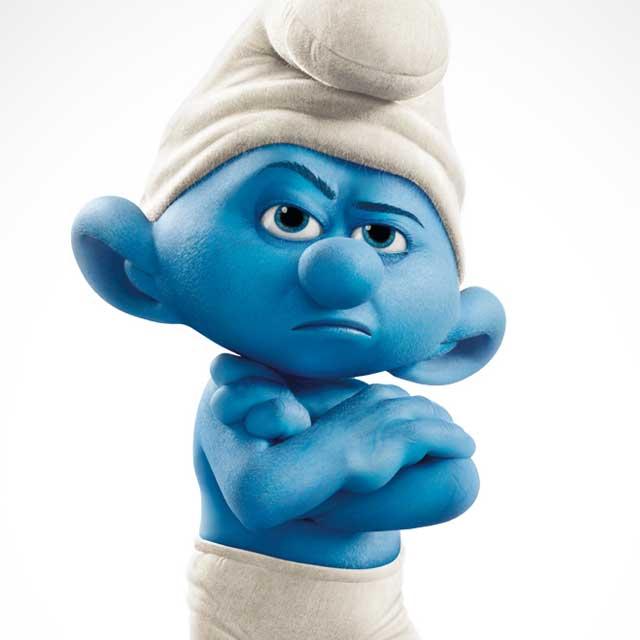annoying smurf