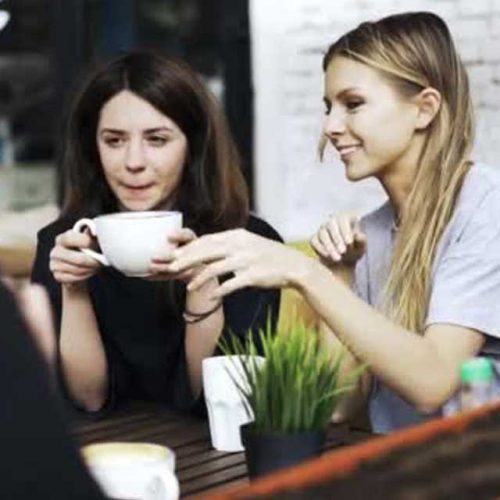 Balaclava Single Hipster Chicks Coffee